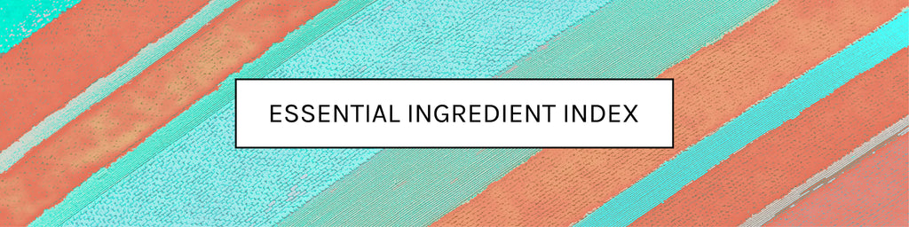 Essential Ingredient Index