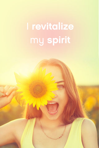I revitalize my spirit Lifestyle Affirmation BeautifuLife by Kay Casperson