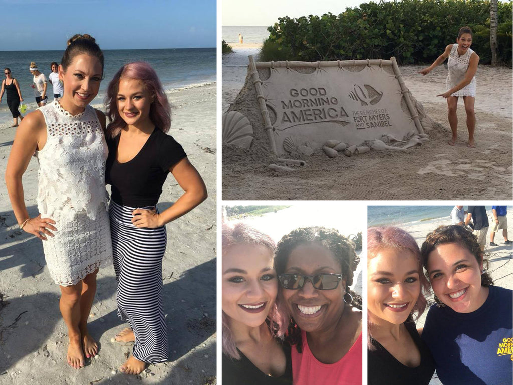 Ginger Zee visits Sanibel and the Kay Casperson Spa, Salon and Boutique at Sundial Beach Resort and Spa