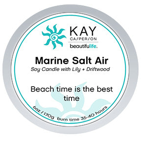 Marine Salt Air Soy Candle