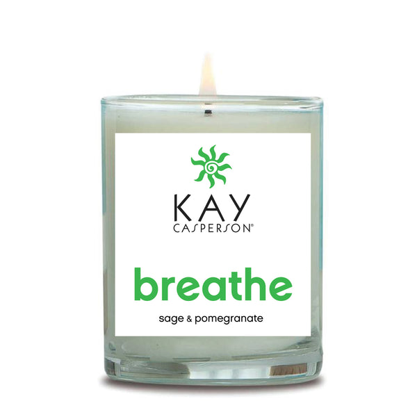 Breathe (Sage + Pomegranate) Soy Candle