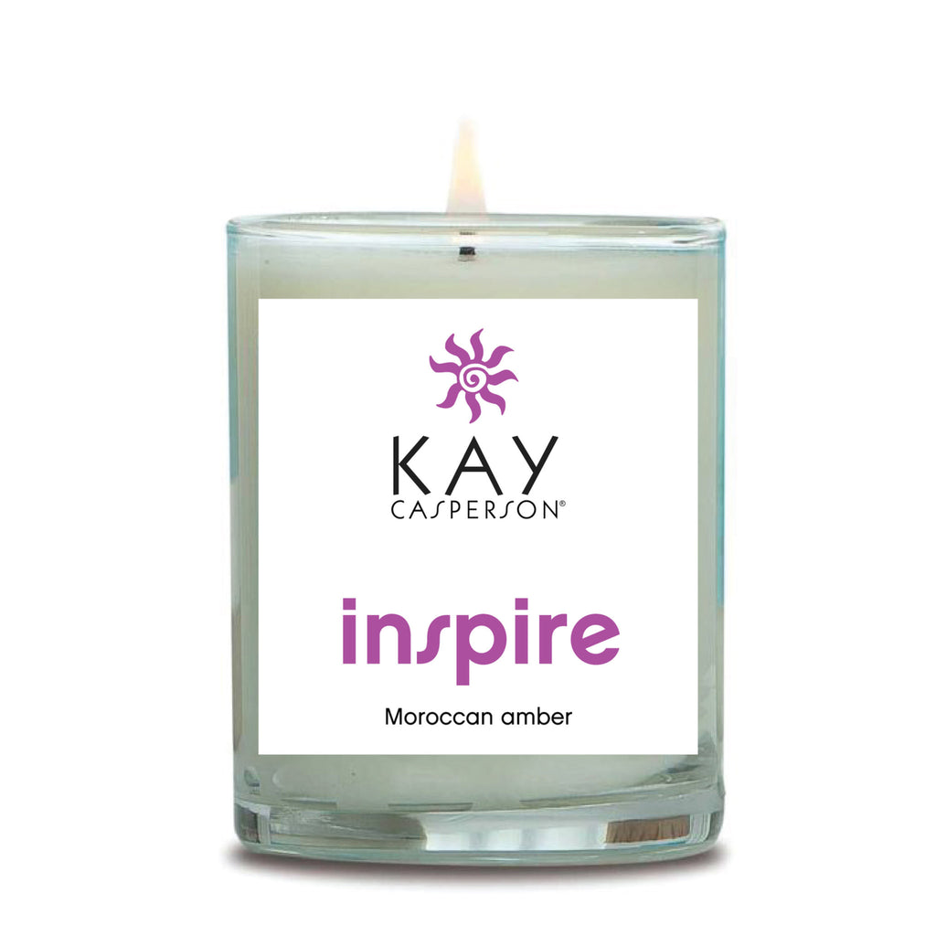 Inspire (Moroccan Amber) Soy Candle