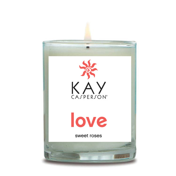 Love (Sweet Rose) Soy Candle