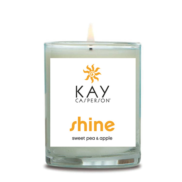 Shine (Sweet Pea + Apple) Soy Candle