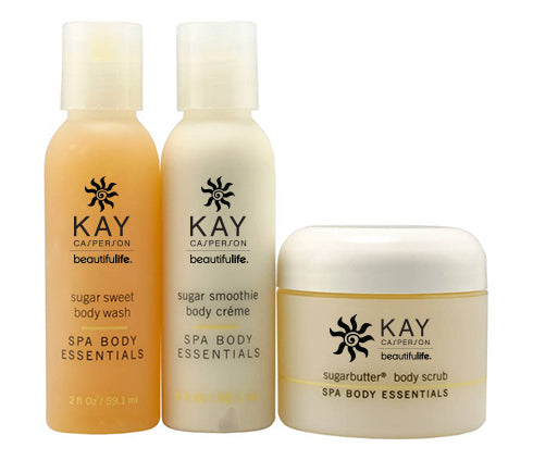 Sugar Body Care Travel Kit