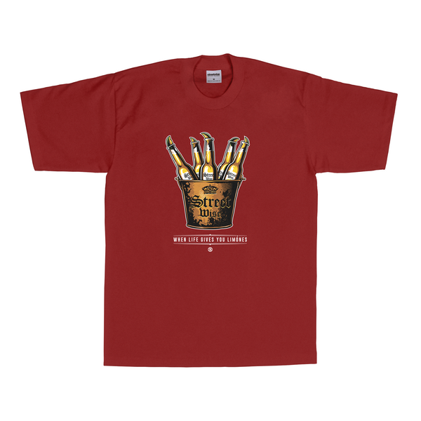 Bucket T-Shirt (Burgundy)