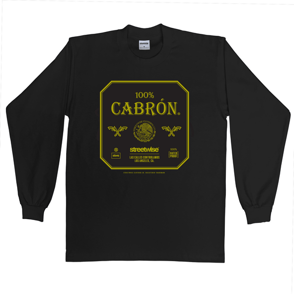 100% Cabron Long Sleeve (Black)