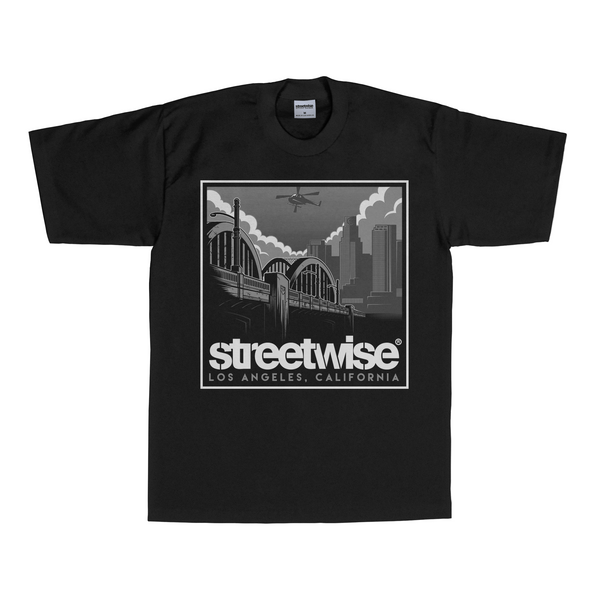 6th Street T-Shirt (Black) | Summer 2016 | Streetwise Clothing
