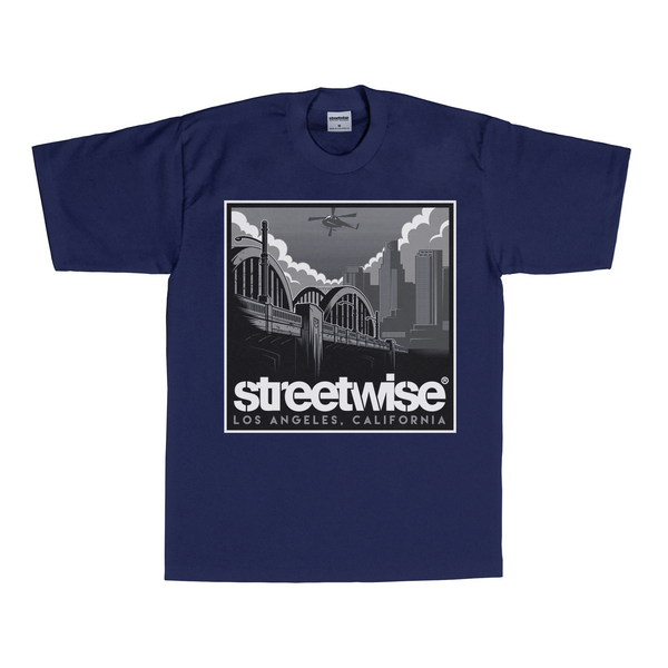 6th Street T-Shirt (Navy)
