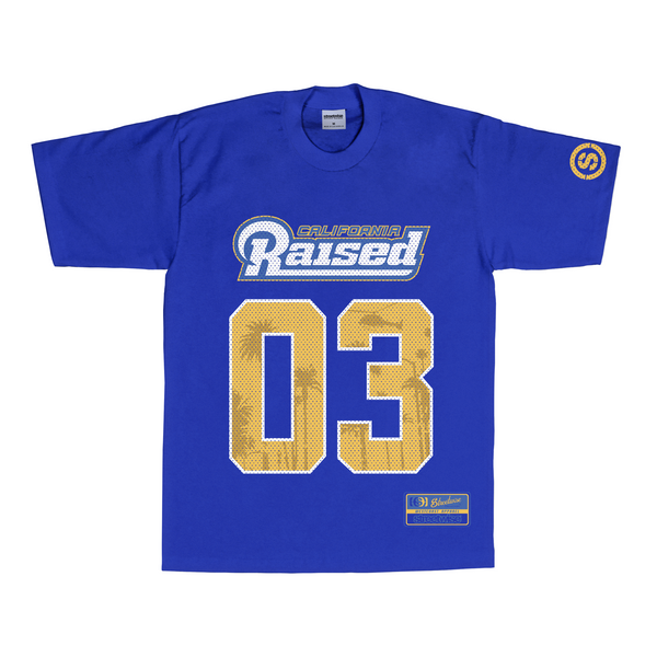 80's Raised T-Shirt (Royal)