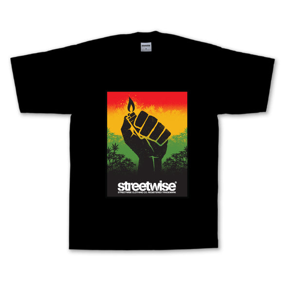 Blaze Up T-Shirt (Black)