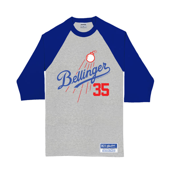 Belli Bombs Raglan (Gray/Royal)