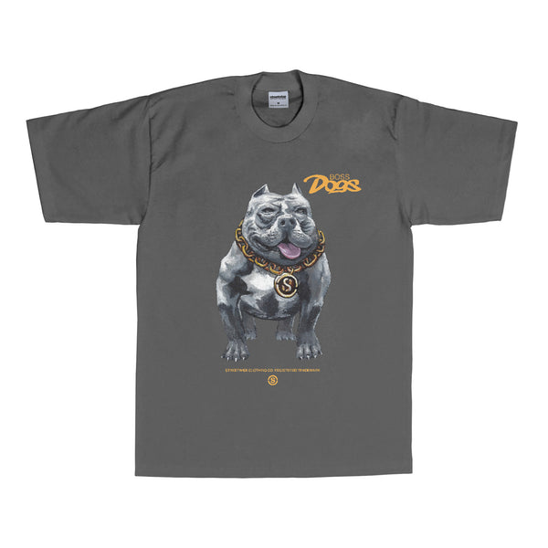 Boss Dogs T-Shirt (Charcoal)