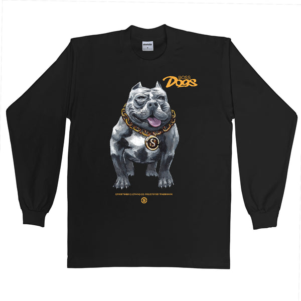 Boss Dogs Long Sleeve (Black)