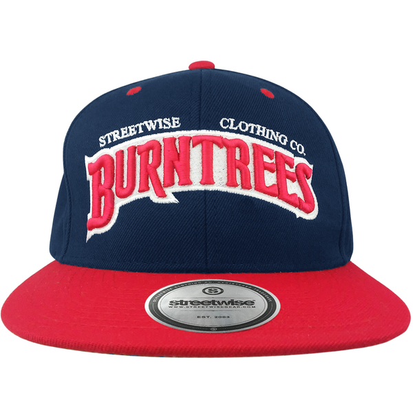 Burn Trees Snapback (Navy/Red)