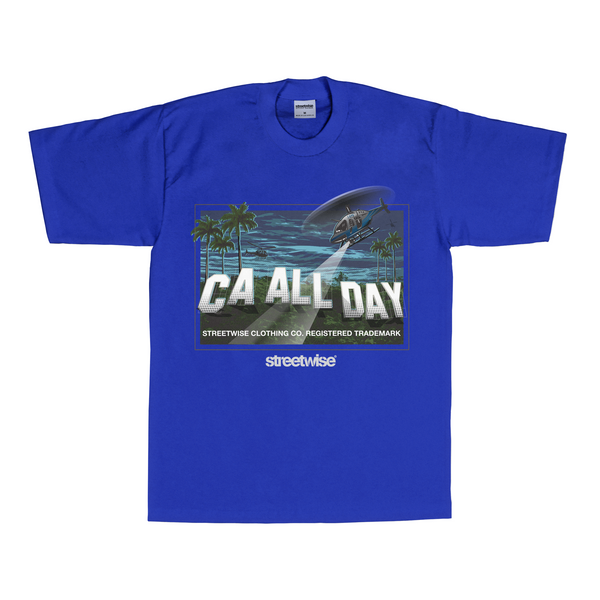 Cali Hills T-Shirt (Royal)