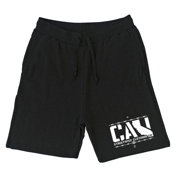 Cali Wire Sweat Shorts (Black)
