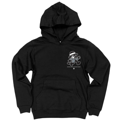 Cool Cat Kids Hoodie (Black)