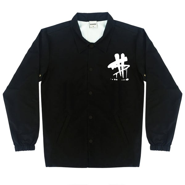 Drippin' Coach Jacket (Black)