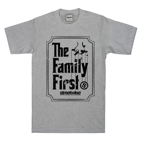 Family First T-Shirt (Gray)