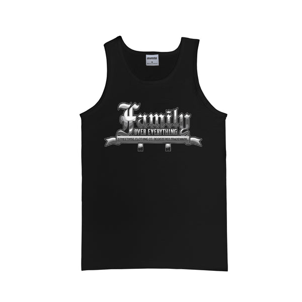 Family Over Everything Tank (Black)
