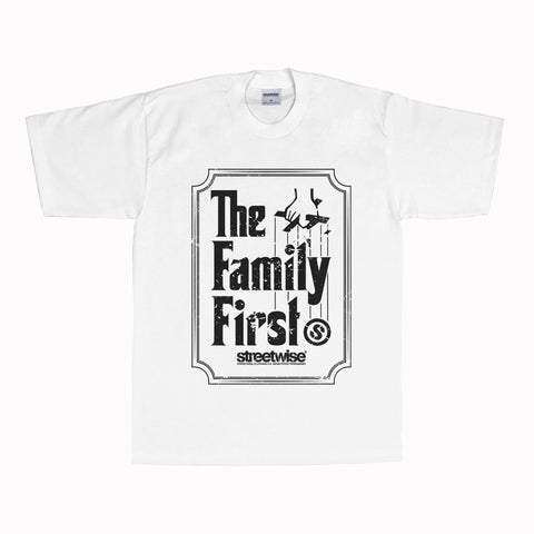 Family First T-Shirt (White)