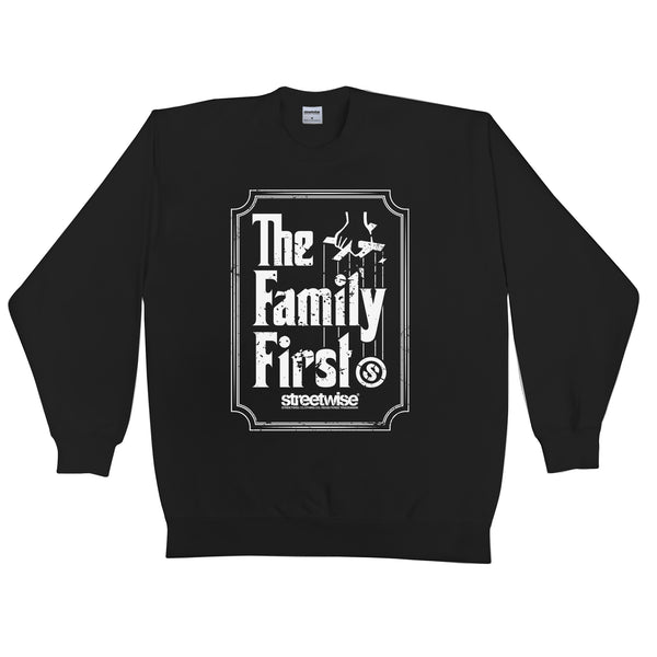Family First Crewneck (Black)