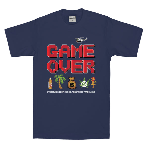 Game Over T-Shirt (Navy)