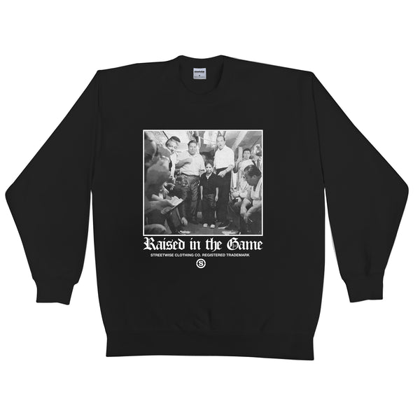 In The Game Crewneck (Black)
