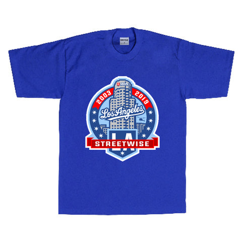 LA Crest T-Shirt (Royal)