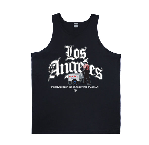LA Hustle Tank (Black)