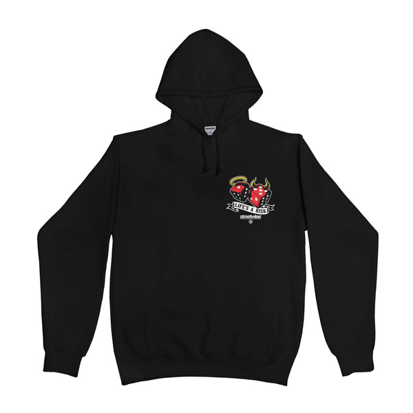Life's A Risk Hoodie (Black)