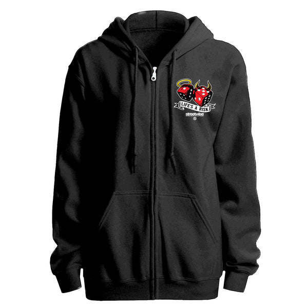 Life's A Risk Zip-Up Hoodie
