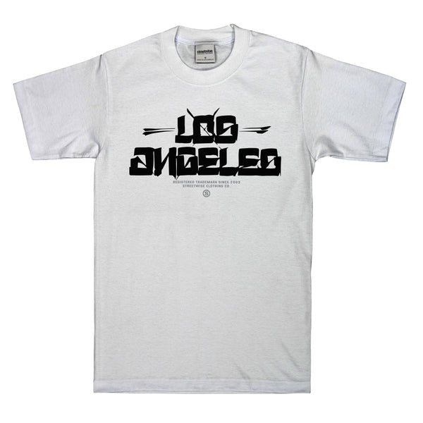LOS-Blocks T-Shirt | SoCal Capsule (White)