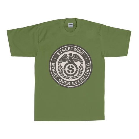Money Over Everything T-Shirt (Olive)