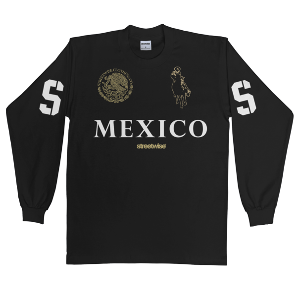 Narco Polo Long Sleeve (Black)
