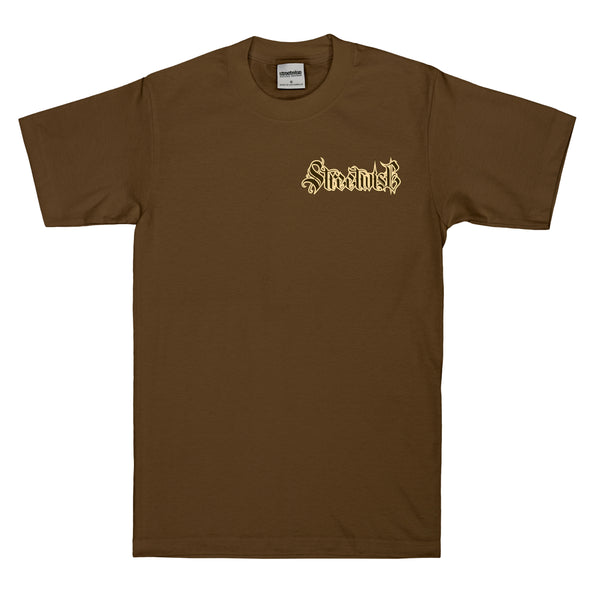 No Peace T-Shirt (Brown)