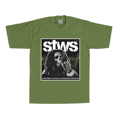 Puffin' T-Shirt (Olive)