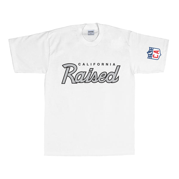 Raised T-Shirt (White)