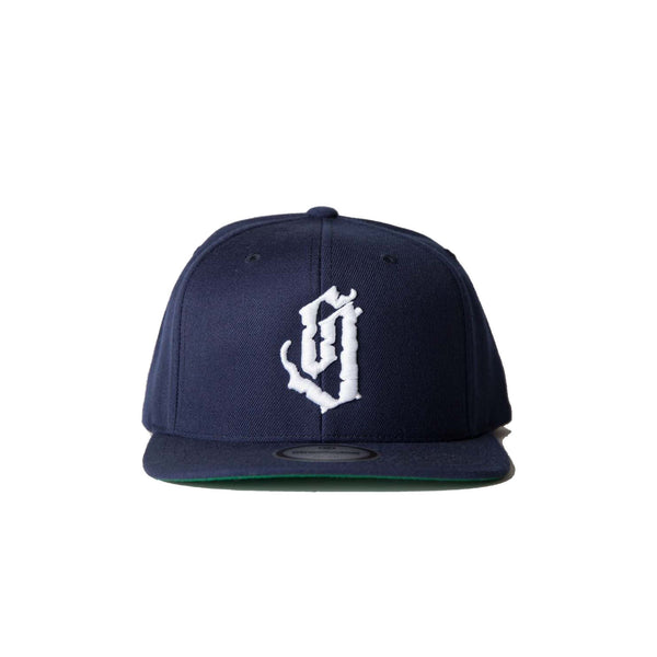 Rugged Snapback (Navy)