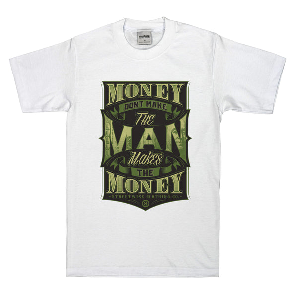 The Man T-Shirt (White)