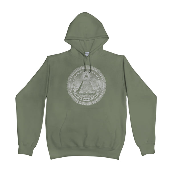 Think Riches Hoodie (Olive)
