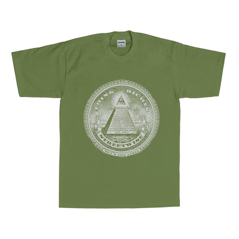 Think Riches T-Shirt (Olive)
