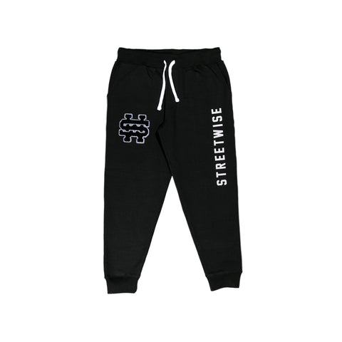 STWS Fleece Joggers (Black)