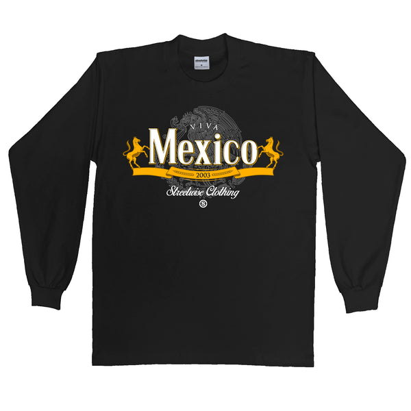 Viva Mexico Long Sleeve (Black)