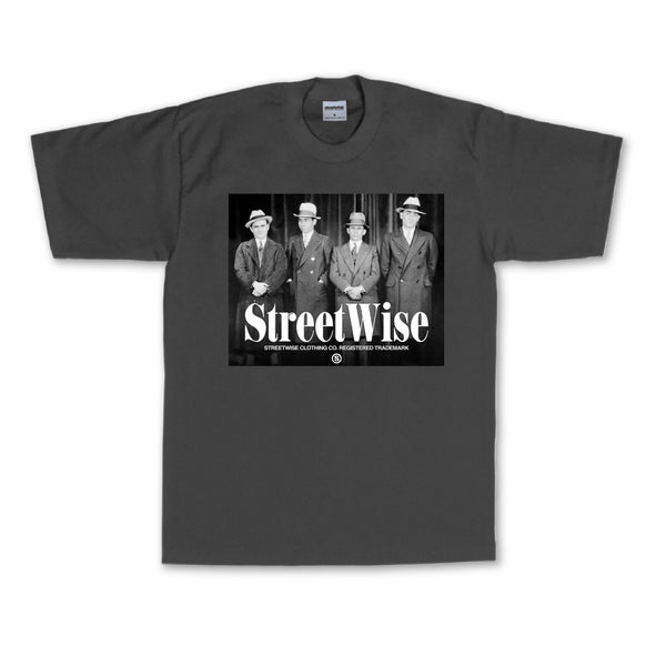 Wiseguys T-Shirt (Charcoal)