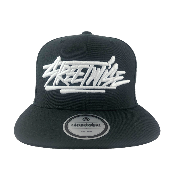 All Caps Snapback (Black)