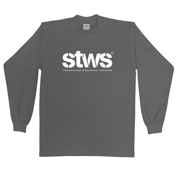 Acronym Long Sleeve (Charcoal)