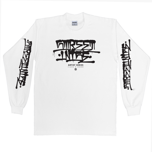 Back Alley Long Sleeve (White)