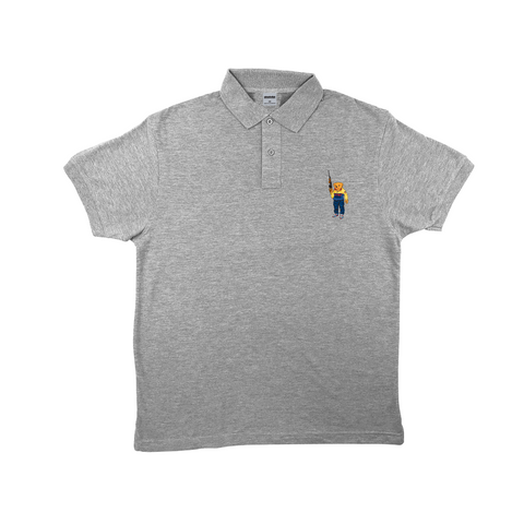 Bear Arms Polo (Grey)